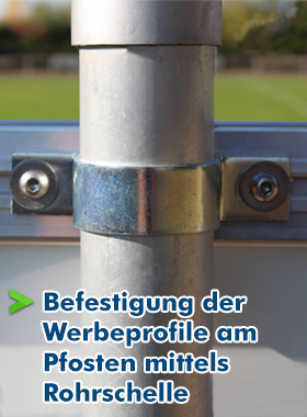 Rohrschelle-Pfosten-Simple