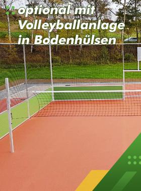 Opt-Volleyballanlage